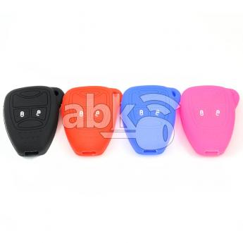 ABK-2500-JEP-2B  Jeep, Chrysler, Dodge Silicone Remote Covers, 2Buttons  ABKEYS