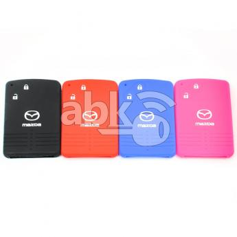 ABK-2500-MAZ-SMART-OLD2B  Mazda Silicone Remote Covers, 2Buttons  ABKEYS