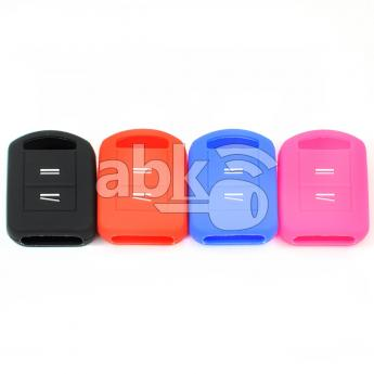 ABK-2500-OPL-OLD2B-2  Opel Silicone Remote Covers, 2Buttons  ABKEYS