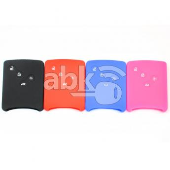 ABK-2500-REN-SMART-MID4B  Renault Silicone Remote Covers, 4Buttons  ABKEYS