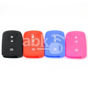 ABK-2500-TOY-SMART-MID3B  Toyota Silicone Remote Covers, 3Buttons  ABKEYS