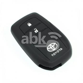 ABK-2500-TOY-SMART-NEW2B  Toyota Silicone Remote Covers, 2Buttons  ABKEYS