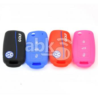 ABK-2500-VW-FLIP-OLD-GOLF  Volkswagen Golf Silicone Remote Covers, 3Buttons  ABKEYS