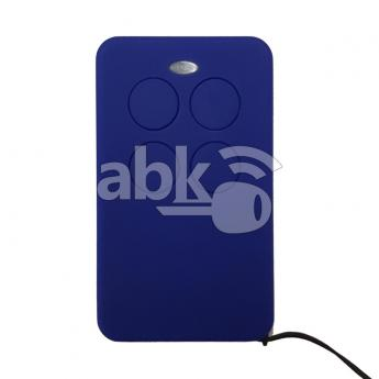 ABK-3171-BLUE  Universal Rolling Code & Fixed Code Remote 4Buttons 280MHz To 870MHz Blue Color  ABKEYS