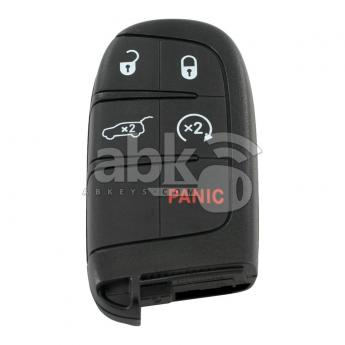 ABK-3204  Jeep Compass 2017+ Smart Key, 5Buttons, M3N-40821302 HITAG AES PCF7953M, 433MHz 68250343AB  ABKEYS