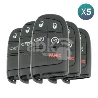 ABK-3256-OFF5  Jeep Grand Cherokee, Chrysler 300 2011+ Smart Key 5Pcs Offer, 5Buttons, M3N-40821302 PCF7945, 433MHz  ABKEYS