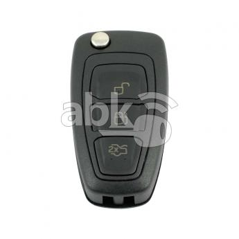 ABK-4149  Ford 2010+ Flip Remote Cover, 3Buttons, HU101  ABKEYS