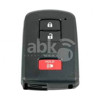 ABK-4156  Genuine Toyota Land Cruiser, Tacoma, Prius 2012+ Smart Key, 3Buttons, HYQ14FBA P1 A8 DST-AES, 315MHz 89904-0E091  ABKEYS