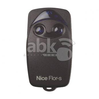 ABK-45-07  Nice Flo2r-s Remote Control, 2Buttons, 433MHz Rolling Code FLOR-S  ABKEYS