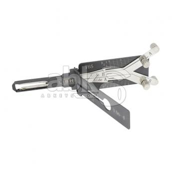 ABK-4893  Genuine Lishi T3 3-in-1 Pick / Decoder For VA6 With 4Lifter Lishi Tool T65-VA6-4LIFTER-3IN1  ABKEYS