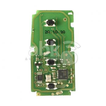 ABK-5010  Xhorse Toyota Smart Key PCB For 4D & 8A Chips, 4Buttons XSTO00GL  ABKEYS