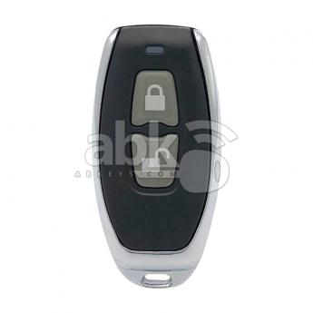 ABK-631  Face To Face Copier Remote Fixed Code 2Buttons 315MHz Design3  ABKEYS
